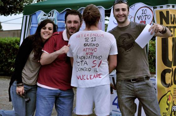 L'ideatore delle magliette referendarie