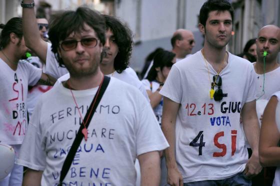 Marcia referendaria - Fabrizio