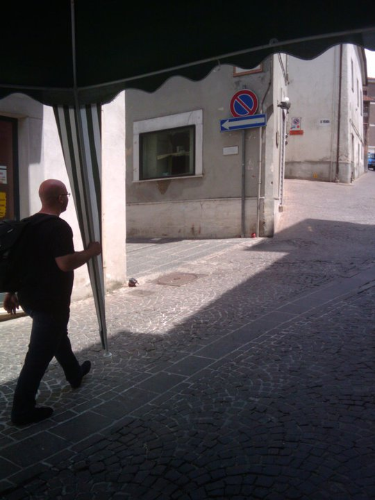 Gazebo itinerante - Alessandro