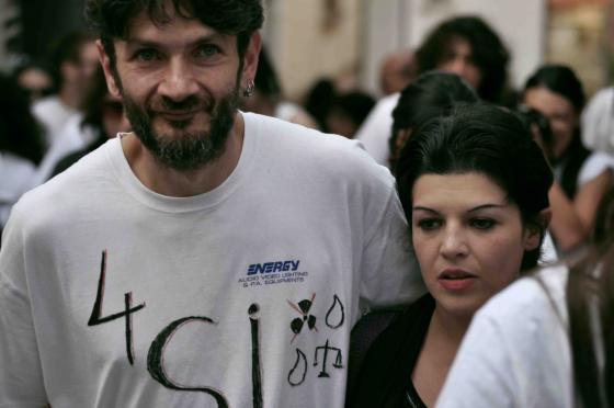 Marcia referendaria - Florian e Conchita