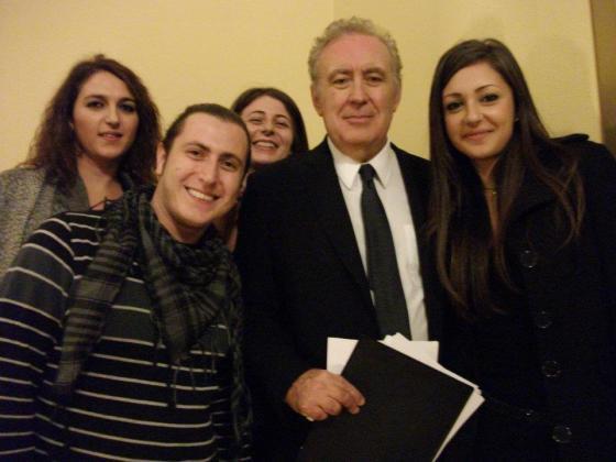 ... con Michele Santoro